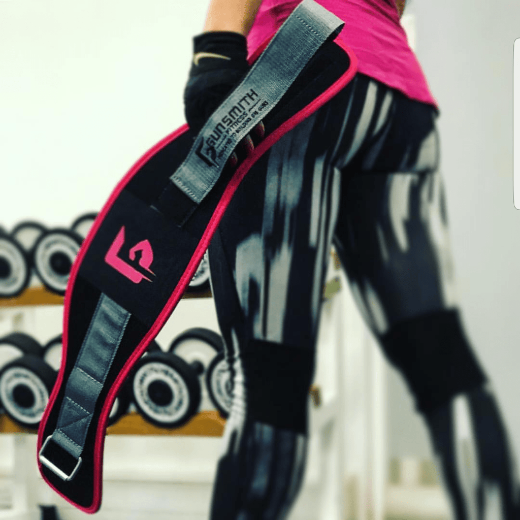 pink ladies lifting belt