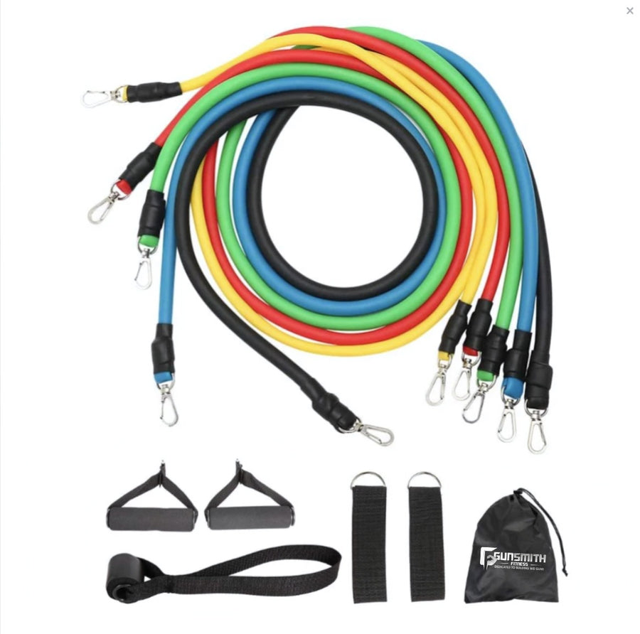 Door Resistance Bands (11 Piece Set)
