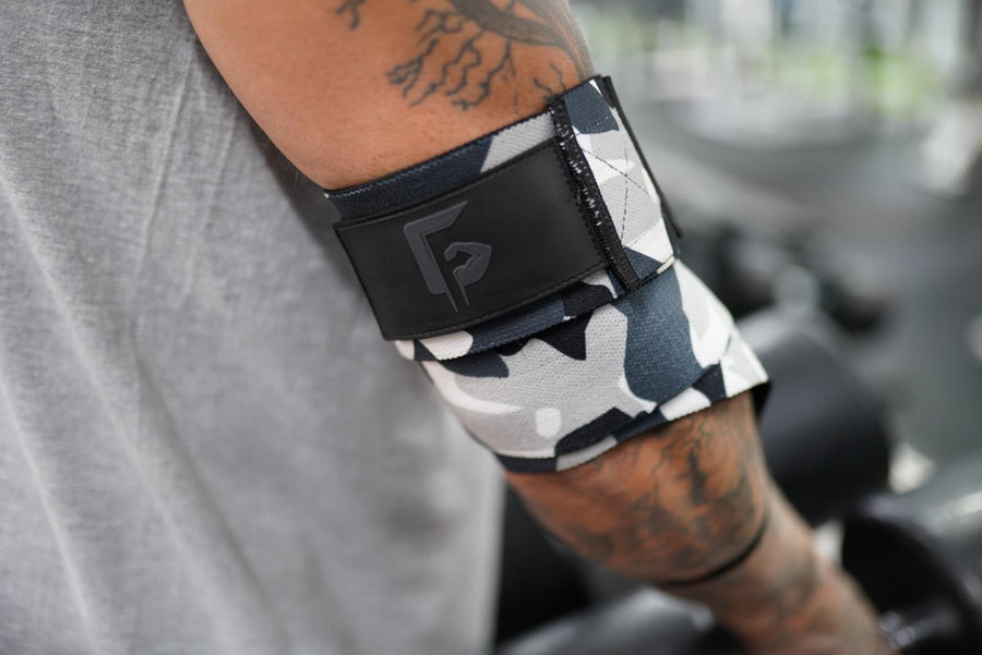 Artic Camo elbow wraps