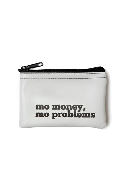 Mo Money, Mo Problems Vinyl Zip Pouch