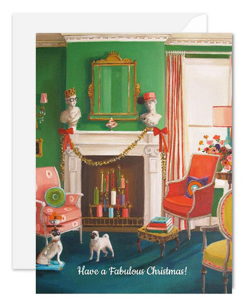 Janet Hill Studio - Have A Fabulous Christmas Card
