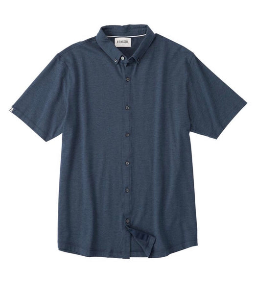 Anza Heathered Buttondown Shirt