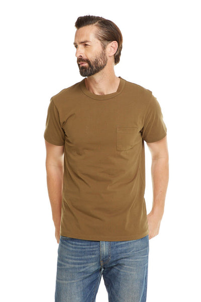 Classic pocket Tee- military