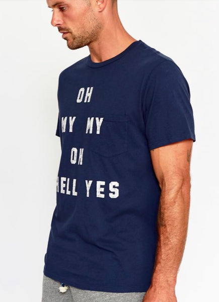 'Oh hell yes' Pocket Tee