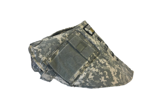 Canine Utility Vest (CUV) made by Broken Gear for service dogs from personal uniforms