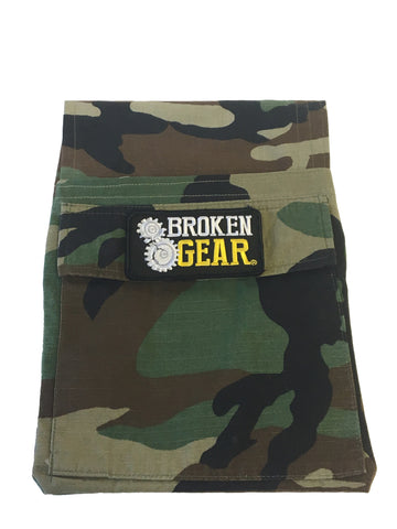Broken Gear, Gear Bag, Decommisioned Uniform custom made