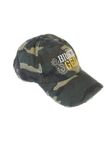 Broken Gear - Cap - Hat - Weathered Camo