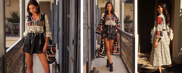 60f1006212c Modern Bohemian Style Inspiration Comes to Life in Miss June Paris  2018 2019 Collection