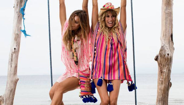 Vibrant Beachwear Trends - Bold Prints and Neon Brights