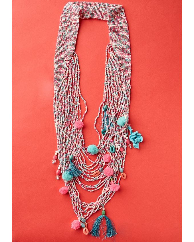 Lola Beaded Multi Layered Necklace