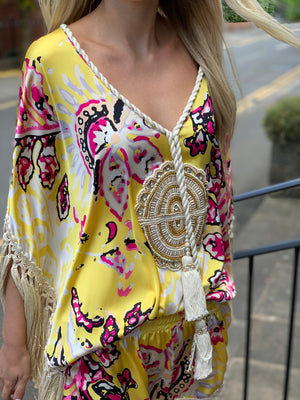 Embellished kaftan Dress Coachella