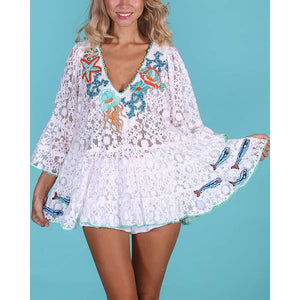 Lace Blouse Mykonos