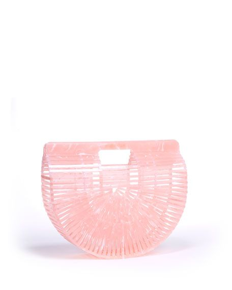 Acrylic Ark Bag in Pink