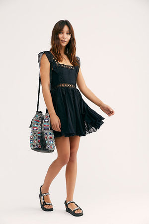 Verona Mini Dress in Black