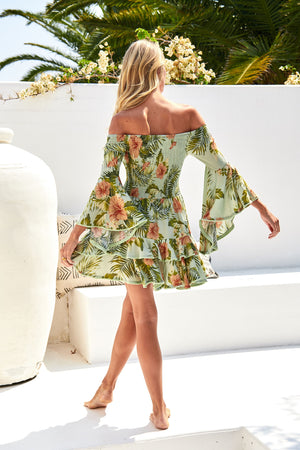 Jaase Primrose Dress in Attico Print