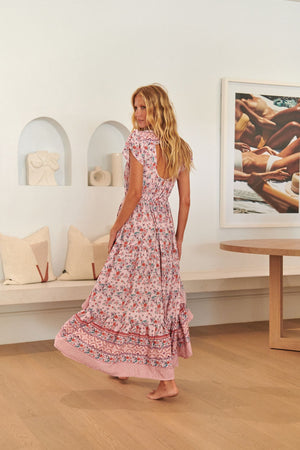 Jaase Maxi Dress Clarke in Nadira Print