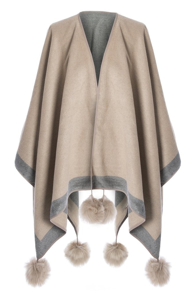Jayley Cashmere and silk Cape
