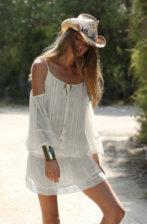 Cold Shoulder Dress Athena
