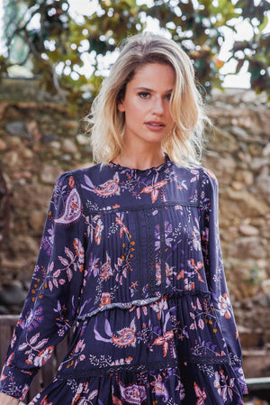 Fernanda Dress in Luna Print