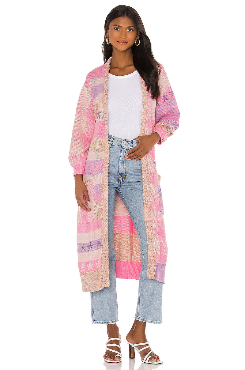 Grayson Duster in Cotton Candy
