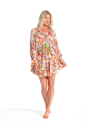 Luna Dress in Eternal Summer Print
