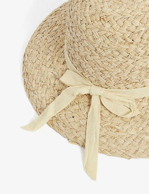 Bloom Raffia Hat