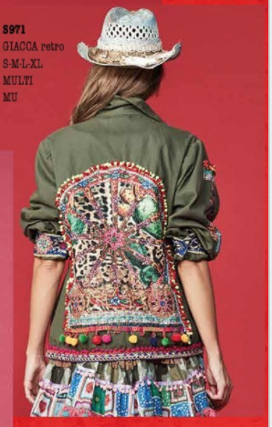 Patchwork Army Jacket