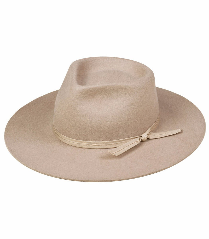 Zulu Wool Fedora Hat in Sand
