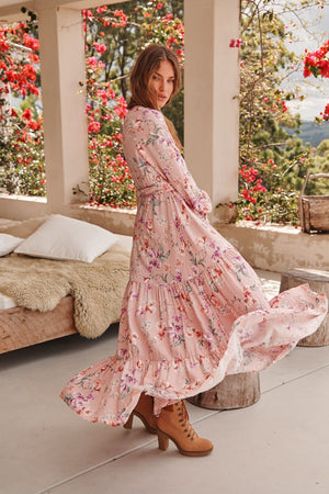 Jaase Essie Maxi Dress in Rihanna Print