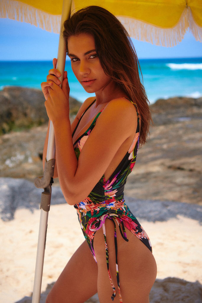 Jaase Lexa print one piece swimsuit