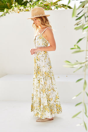 Jaase Miley Print Maxi Dress Bea