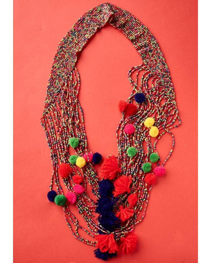 Antica Beaded Multi Layered Necklace