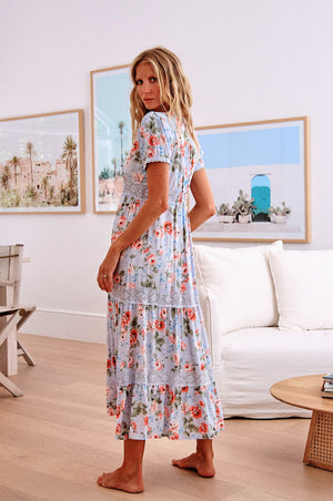 Jaase Huntley Maxi Dress in Balair Print