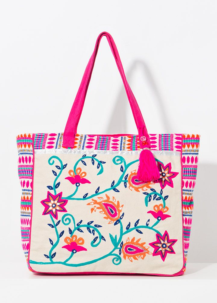 Barbados Embroidered Bag