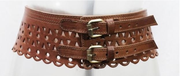fab86bd39 Miss June Leather Double Buckle Waist Belt – OutDazl