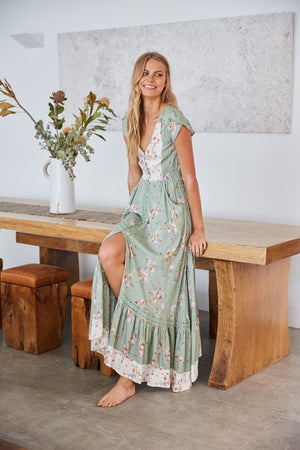 Maxi Dress Carmen in Betsy Print