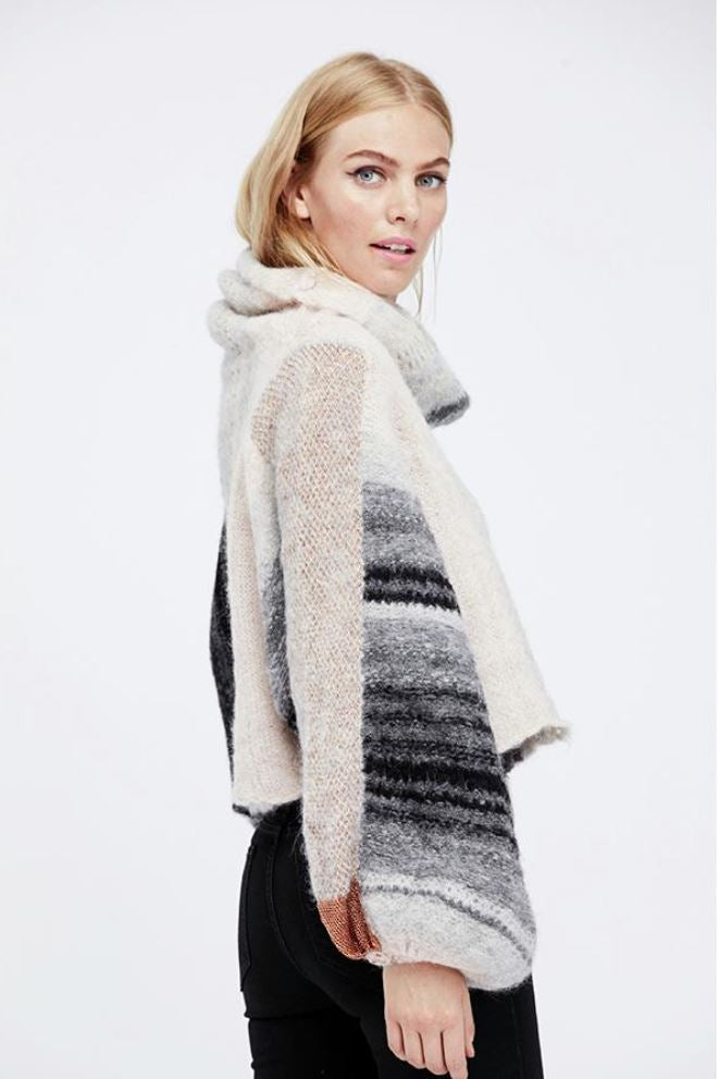 Free People Cloud Kicker sweater