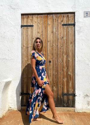 Jaase Maxi Dress Carmen in Mabel Print