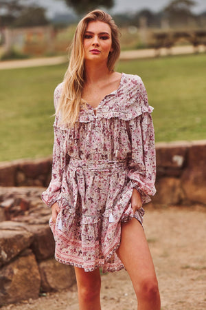 OVERSIZED Jaase Dimitri tunic in Shorelines Print