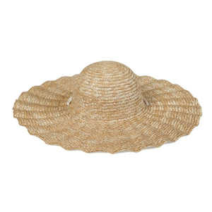 Scalloped Dolce Hat