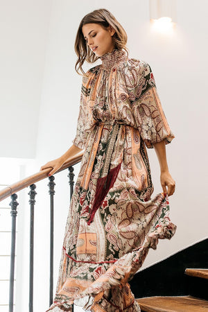 Maxi Print Dress Hendrix