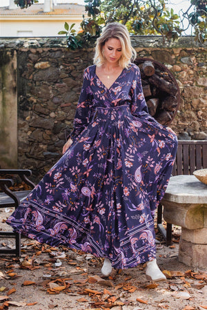 jaase Rae Maxi Dress in Luna Print