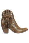 Leather Ankle Boots in Ivy Apex-Tan in Brown