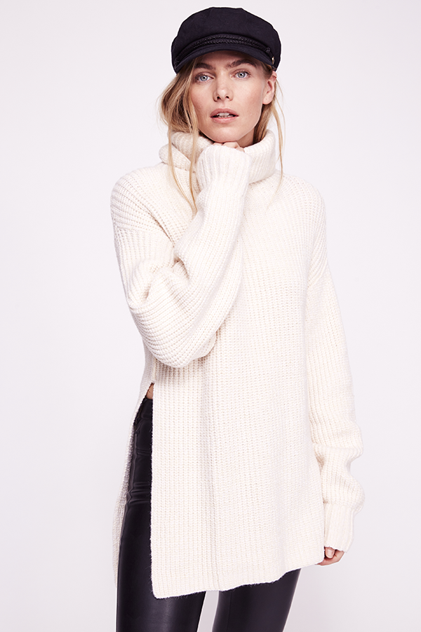 Chunky Eleven Sweater in Cream