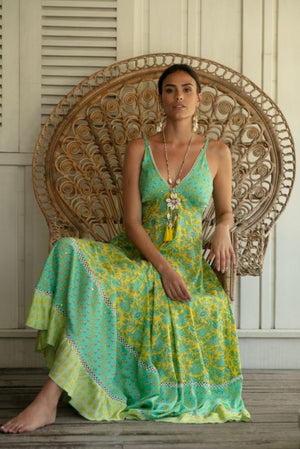 Miss June Print Maxi dress Endless Summer