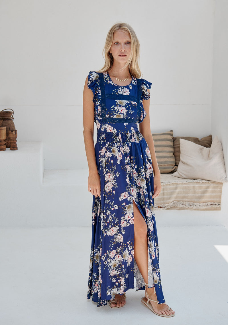 Nightingale Dress in Piana Print
