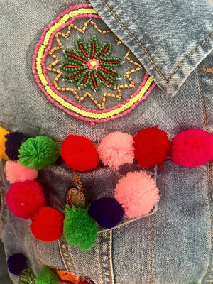 Antica Sartoria Denim Jacket Fiesta