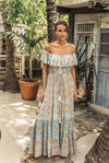 miss june maxi dress gardenia
