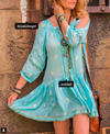 Aqua Athena Dress by Miss June