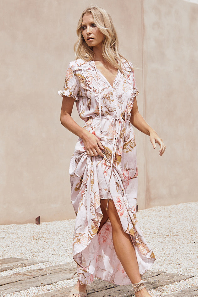 Jaase Forma Maxi Dress in Prima Print